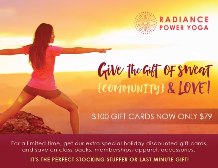 Radiance Power Yoga Holiday Campaign Marsha Austin Media